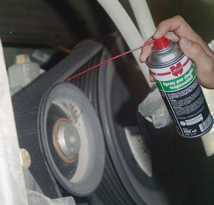 spray para correa alternador