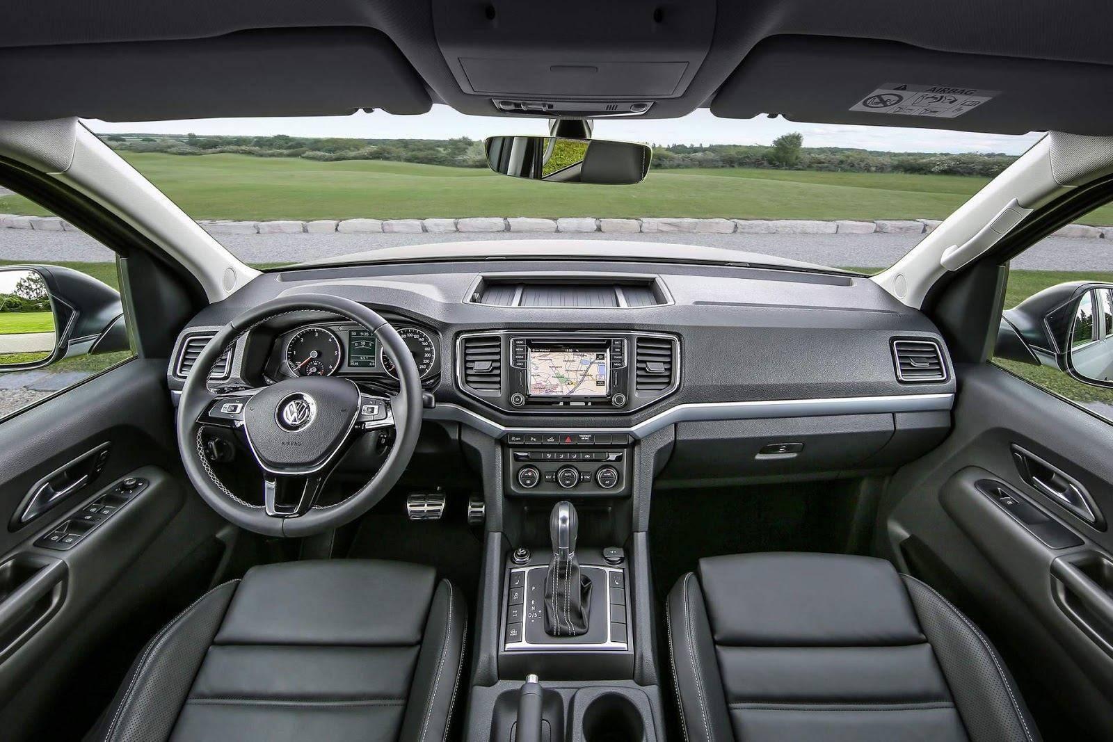 Amarok 2021 V6 en Argentina Interior