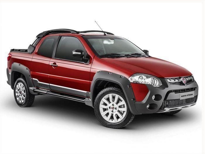 Fiat Strada Adventure 1.6 Cabina Doble 3 Puertas Pick Up Nafta 1.6 L 115cv $410.700 Fiat Strada Trekking 1.3 Multijet Cabina Doble 3 Puertas Pick Up Diesel 1.3 L 95cv $405.600 Fiat Strada Working 1.4 Cabina Simple Pick Up Nafta 1.4 L 87cv $311.800 Fiat Strada Working 1.4 Cabina Doble 3 Puertas Pick Up Nafta 1.4 L 87cv $342.000