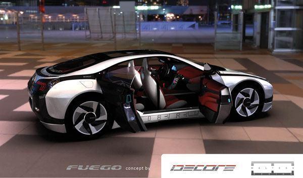 🔥La nueva Coupe Fuego 2020, vuelve con diseño futurista. Prototipo