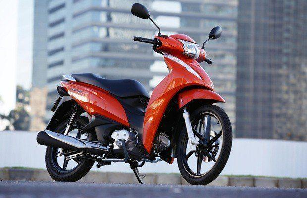 Honda Biz 2021 en Argentina Roja
