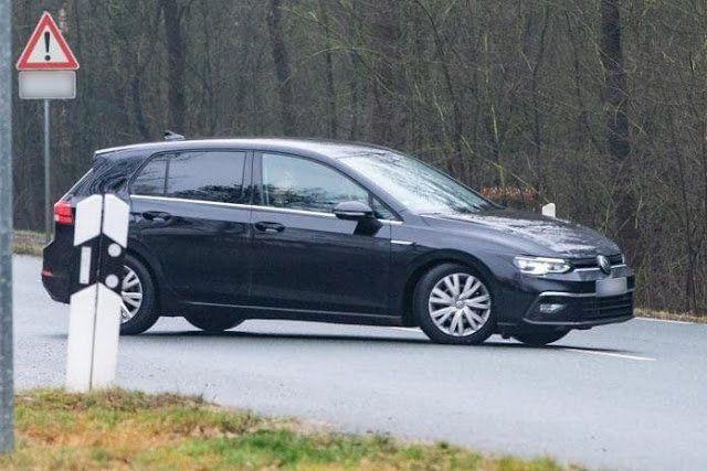 , El Nuevo VW Golf 2020, aparece sin camuflaje