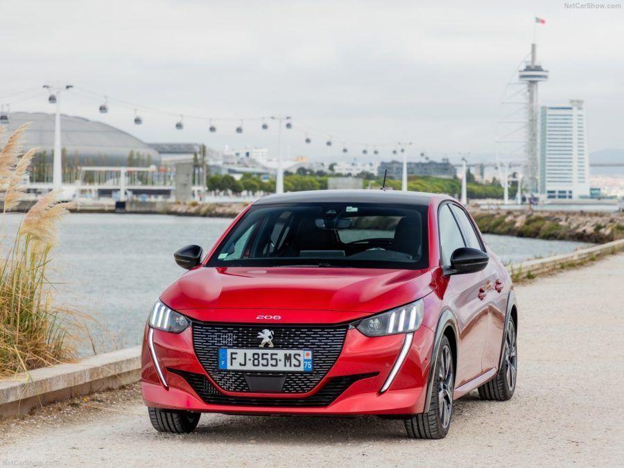 Peugeot 208 Vista frontal