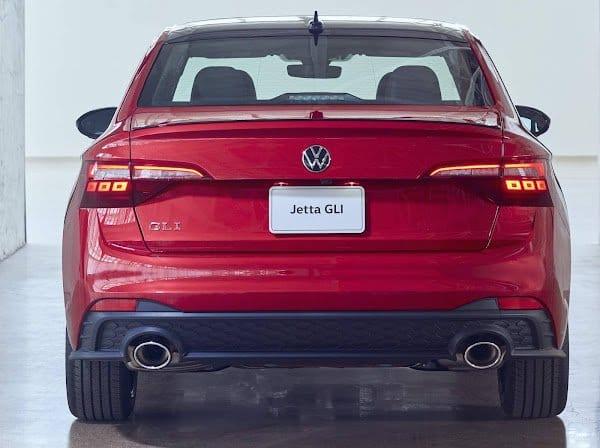 VW Vento 2022 parte trasera
